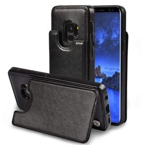 Other - Samsung Galaxy S9 Case Premium Leather 1b59220770058